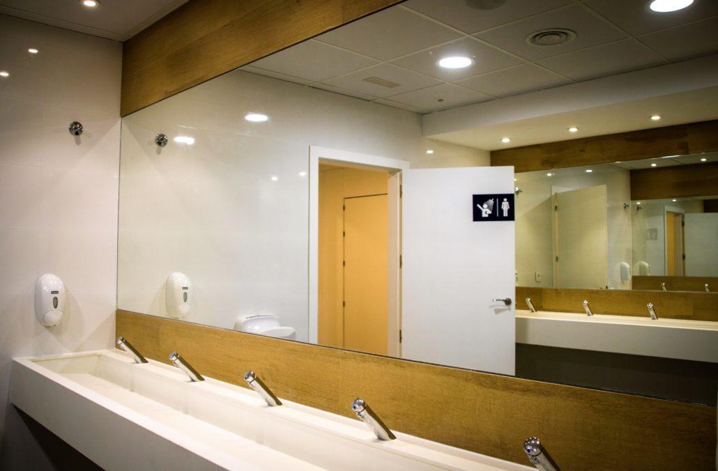 baños y duchas estación de servicio andamur guarroman y andamur la junquera