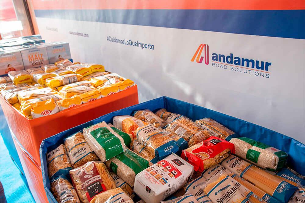 Recaudamos 1083 kilos de comida para cáritas con la campaña #TuEsfuerzoValeX3